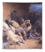 The Martyrdom Of The Holy Innocents 1868 Fleece Blanket