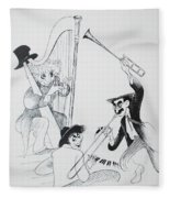 The Marx Brothers O Fleece Blanket