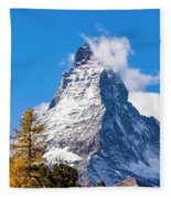 The Matterhorn Mountain Fleece Blanket