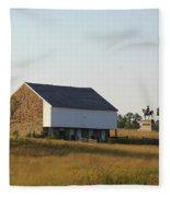 The Mcpherson Barn Fleece Blanket