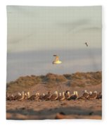 The Meeting Fleece Blanket