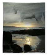 The Melody Of Love Fleece Blanket
