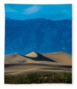 The Mesquite Dunes Fleece Blanket