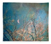 The Messy House Of The Moon Fleece Blanket