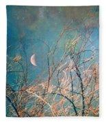 The Messy House Of The Moon Fleece Blanket