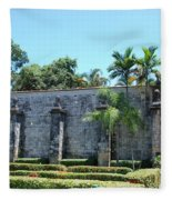 The Miami Monastery Fleece Blanket