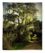 The Mighty Oaks Of Garland Ranch Park 2 Fleece Blanket