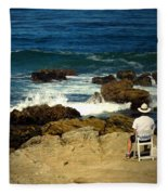 The Mighty Pacific Grab A Chair And Watch The Show Three Fleece Blanket