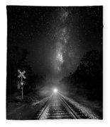 The Milky Way Express Fleece Blanket