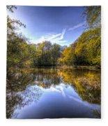 The Mirror Pond Fleece Blanket