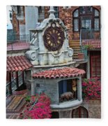 The Mission Inn Clock Tower Fleece Blanket