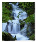 The Misty Brook Fleece Blanket