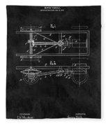 The Model T Patent Fleece Blanket