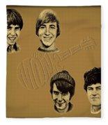 The Monkees  Fleece Blanket