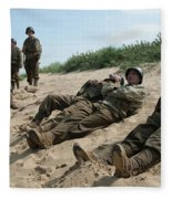 The Monuments Men Fleece Blanket