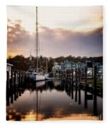 The Mooring Fleece Blanket