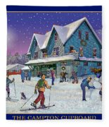 The Morning After At Campton New Hampshire Fleece Blanket