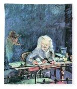 The Mother Of Sonia Gramatte By Walter Gramatte Fleece Blanket