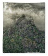 The Mountains Of Alaska  Fleece Blanket