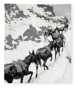 The Mule Pack Fleece Blanket
