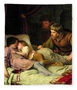 The Murder Of The Sons Of Edward Iv Fleece Blanket