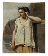 The Muse. History Fleece Blanket