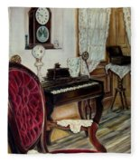 The Music Room Fleece Blanket