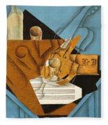 The Musician's Table Fleece Blanket