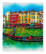 The Mystique Of Italy Fleece Blanket