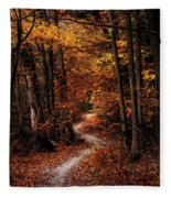 The Narrow Path Fleece Blanket