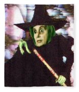 The New Wicked Witch Of The West Fleece Blanket