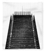 The New York Times Building, Midtown New York Fleece Blanket