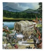 The Nez Perce Fleece Blanket