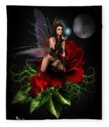 The Night Fairy Fleece Blanket
