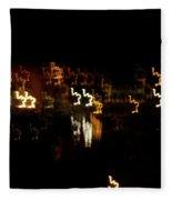 The Night Race Fleece Blanket