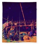 The Nightmare Carousel 22 Fleece Blanket