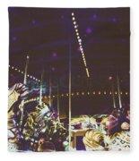 The Nightmare Carousel 8 Fleece Blanket
