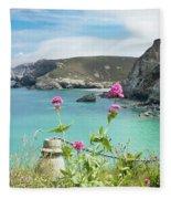 The North Cornwall Coast Fleece Blanket