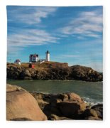 The Nubble 2 Fleece Blanket