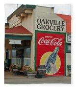 The Oakville Grocery Fleece Blanket