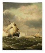 The Olbers At Sea Fleece Blanket