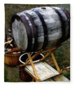 The Old Beer Barrel Fleece Blanket