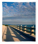 The Old Bridge Fleece Blanket