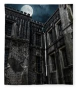 The Old City Jail Fleece Blanket