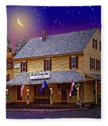 The Old Country Store Fleece Blanket