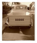 The Old Dodge Fleece Blanket