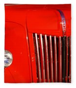 The Old Ford Truck Fleece Blanket