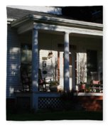 The Old Front Porch Fleece Blanket