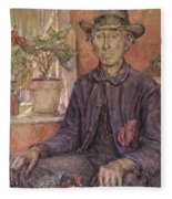 The Old Gardener 1921 Fleece Blanket