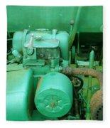 The Old Green Dumper Fleece Blanket